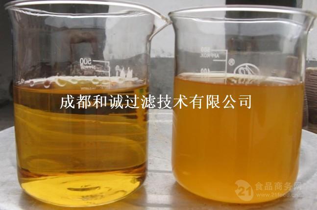 山东地区+和诚过滤+中药口服液澄清除杂+膜过滤设备