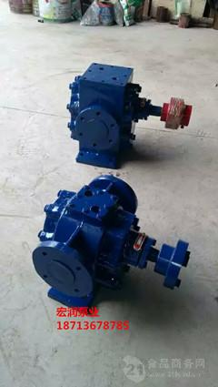松香输送泵/石蜡泵/高温450度RCB6/0.6型沥青泵