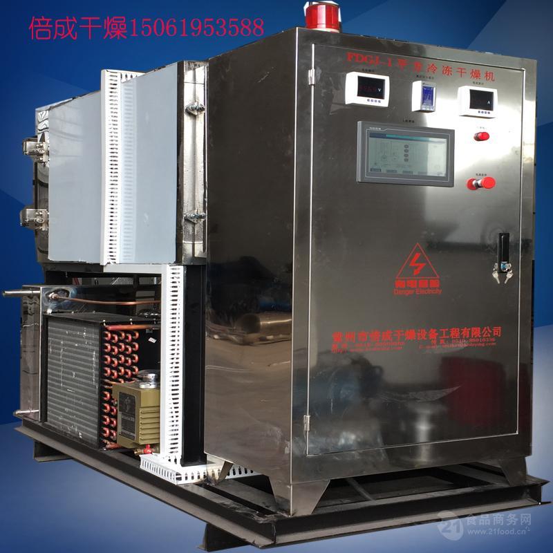 GMP要求精度抛光全304不锈钢制作奶酪冻干机冷冻干燥机