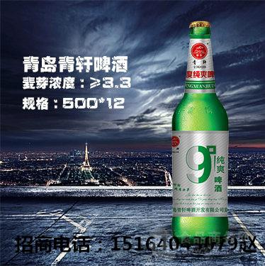 9度超爽大瓶便宜啤酒加盟/山东/济宁/泰安啤酒代理