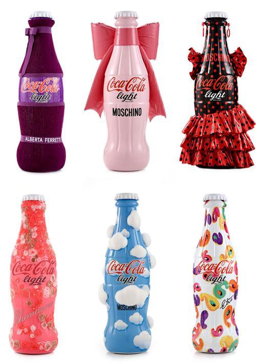 那些年衣着华丽的可乐瓶您见过吗