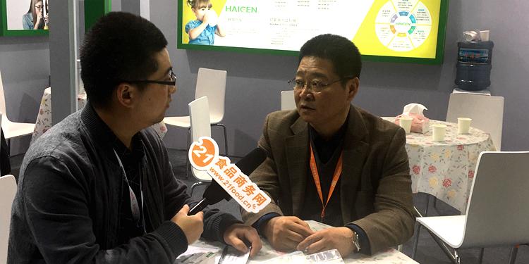 中国甜菊协会副秘书长孙景文:甜菊糖正在国内慢慢崛起