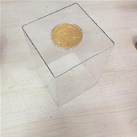 PET透明酒盒罩制作厂家优质亚克力酒盒透明罩可定制