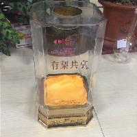 大型酒盒包装厂家推出春节新品高档亚克力透明酒盒