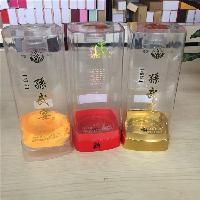 白酒透明酒盒新款白酒包装盒子外观高档厂家可定制