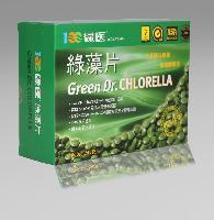 台湾进口绿医绿藻片 破壁小球藻
