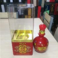 亚克力酒盒高档白酒透明盒pet材质厂家直供