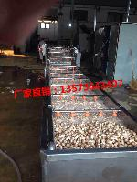 全自动青刀豆清洗机定制大型蔬菜清洗机红薯花生气泡清洗机