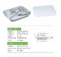 WB-227-1三格餐盒分格餐盒三格快餐盒