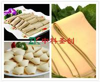 广东豆腐皮机设备 千张豆腐皮机厂家 全套豆腐皮机多少钱
