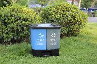 贵州塑料双桶分类垃圾箱厂家