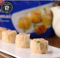 新加坡进口鲜虾海鲜烧卖冷冻半成品食品干蒸点心200g烧卖批发
