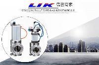 进口气动真空挡板阀|德国(LIK)莱克品牌