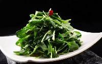 農產品蔬菜食材配送一站式采購配送食堂配送服務--宏鴻雞毛菜