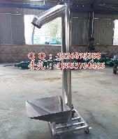 变频调速实心轴螺旋输送机 节省空间大倾角螺旋提升机xy1