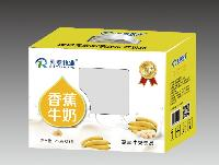 乳泰牧业  乳+系列  香蕉牛奶