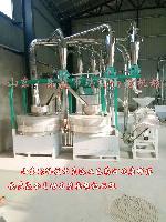 德州石磨机械-平筛石磨面粉机双组