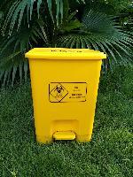 30L脚踏式生物垃圾桶医疗废物收纳桶脚踩开盖