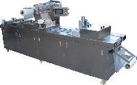 促销海产品海带块全自动真空包装机 冷冻水产品拉伸膜真空包装机