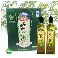 供應 山川綠野山茶油 500ml單瓶裝食用山茶油