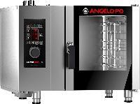 意大利进口ANGELOPO 安吉洛普按键版 BX61G 六盘燃气*蒸烤箱