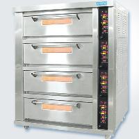 新麦电烤箱SK-644FG四层十六盘电烤箱电烤炉