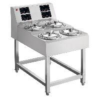 全自动煲仔饭机,数码紫砂煲仔饭机单层4头,电煲仔炉