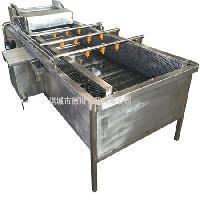 德川生产气泡清洗机 不锈钢玉米清洗机