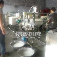 大型不锈钢全自动圆形粉皮机做红薯 绿豆 马铃薯粉皮 包教技术