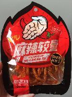 供应超麻辣休闲小吃 约辣辣条