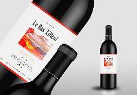 红酒酒标设计法国智利澳洲葡萄酒标签设计印刷