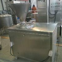 德川不锈钢大肉块灌肠机 40L液压灌肠
