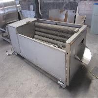 诸城德川生产 洗猪蹄子机器 毛辊式清洗