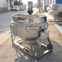 四川辣椒酱炒锅 烧天然气夹层锅 300L