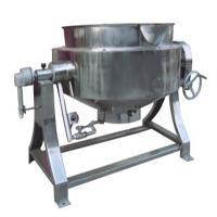 牛肉汤熬制夹层锅 立式底部出料不带搅拌
