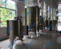 金银花茶饮料生产线