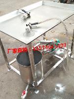 鸡胸鸭胸双枪盐水注射机 酱肚肉平台式盐水注射机 鱼肉淀粉注射机