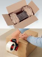 纸质缓冲包装系统 牛皮纸填充纸垫 缓冲纸垫