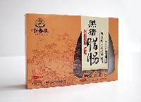海南特产腊肠海南定安黑猪腊肠450g精品小礼盒手工腌制天然食材