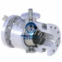 进口气动高温O型球阀,2520材质高温球阀