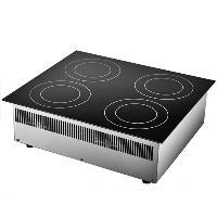 Chinducs嵌入式电磁炉 华磁四头电磁炉 商用用电磁炉灶