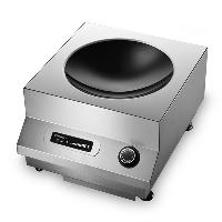 Chinducs 华磁台式电磁小炒炉TA5商用电磁炉 凹面小炒炉5kw