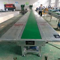 食品级皮带传送输送机流水线 桌面皮带转弯机输送机 铝型材皮带机