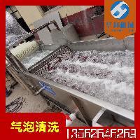 华邦机械多功能雪里红气泡清洗机   水果坚果红枣节能清洗机