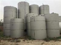 低价出售1-60立方二手不锈钢储存罐现货供应