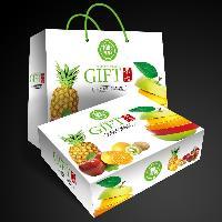年货礼盒水果包装礼品盒 食品礼盒包装彩盒创意包装