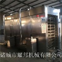 鸡产品烘烤上色烟熏炉设备