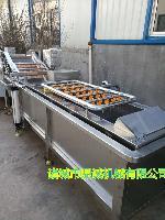 龙虾清洗蒸煮加工流水线--海产品加工生产线
