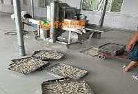 定制地瓜条裹粉机生产线