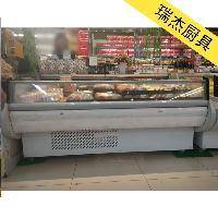 直冷式加盖鲜肉柜,超市鲜肉展示柜